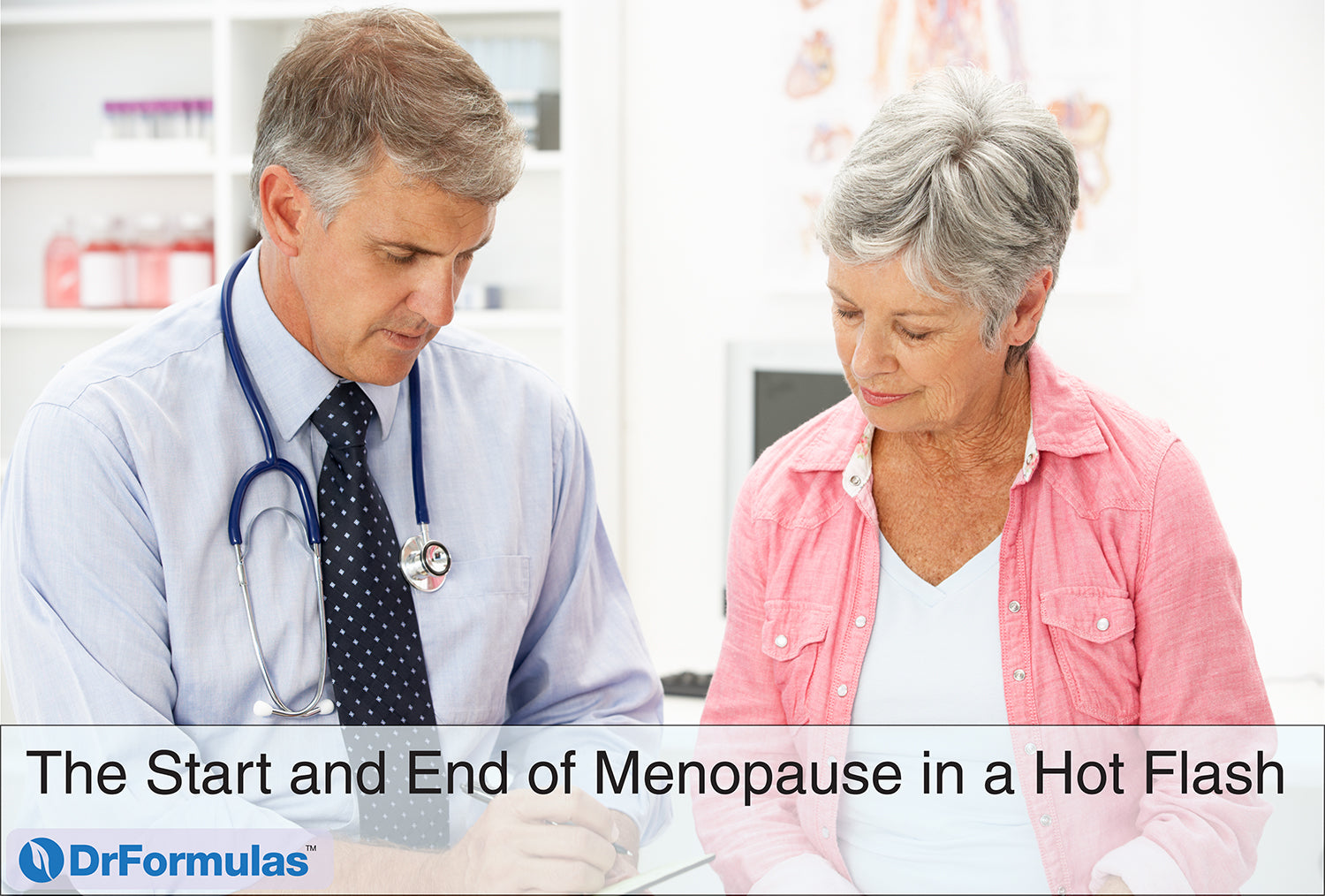 The Start and End of Menopause in a Hot Flash
