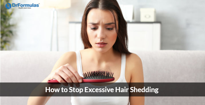 How to Stop Excessive Hair Shedding Naturally