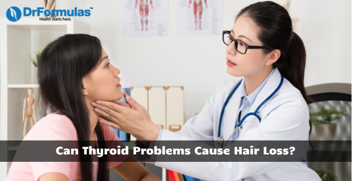 can thyroid problems cause hair loss