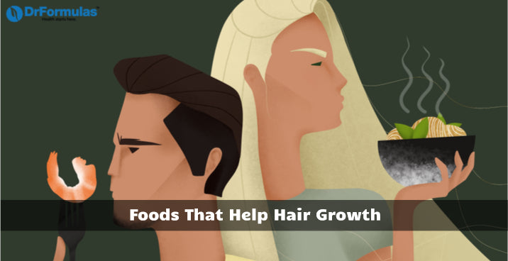 Foods That Help Hair Growth