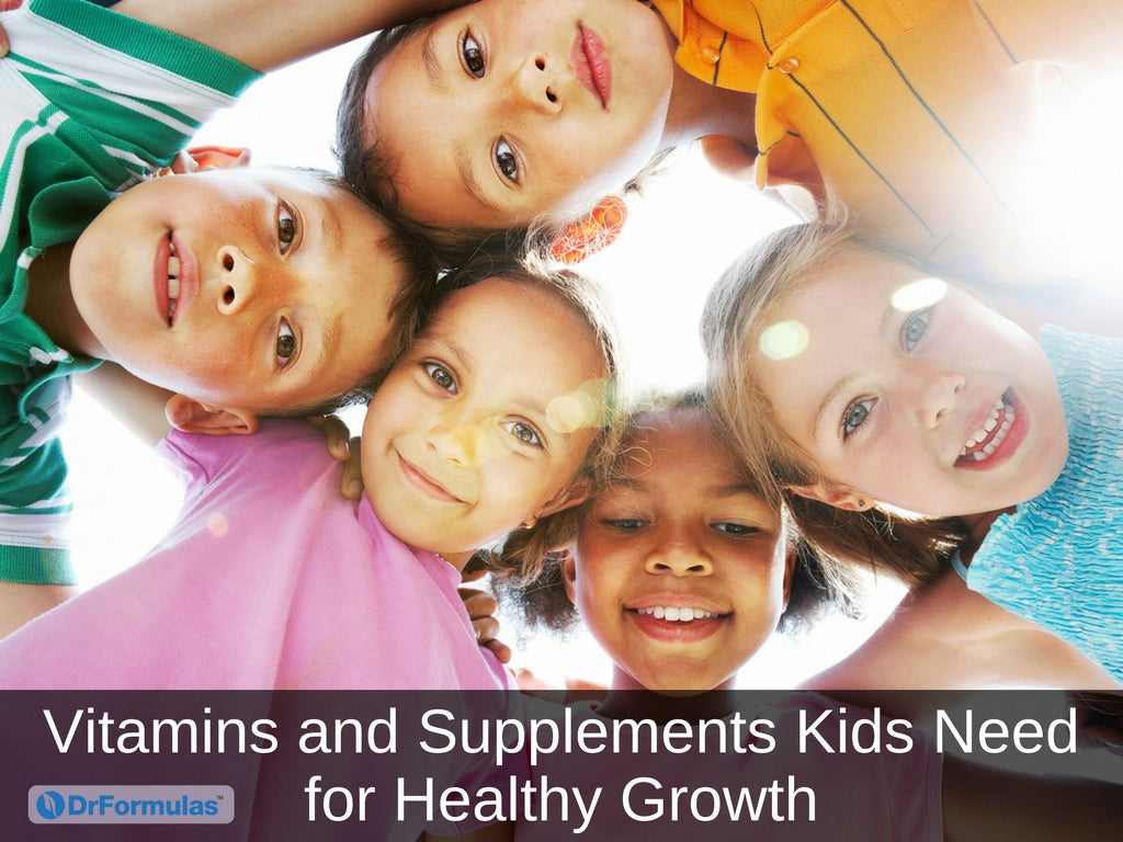 Vitamins and Supplements Kids Need