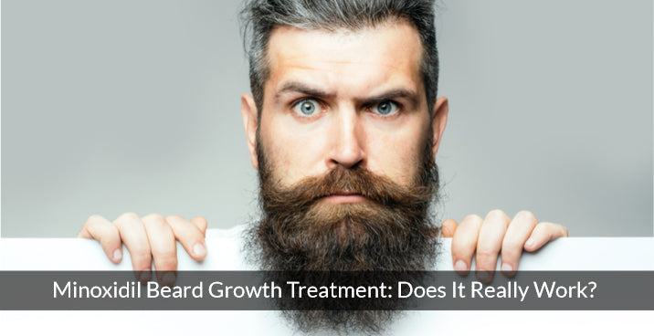 Minoxidil Beard Growth Treatment : Does It Really Work?