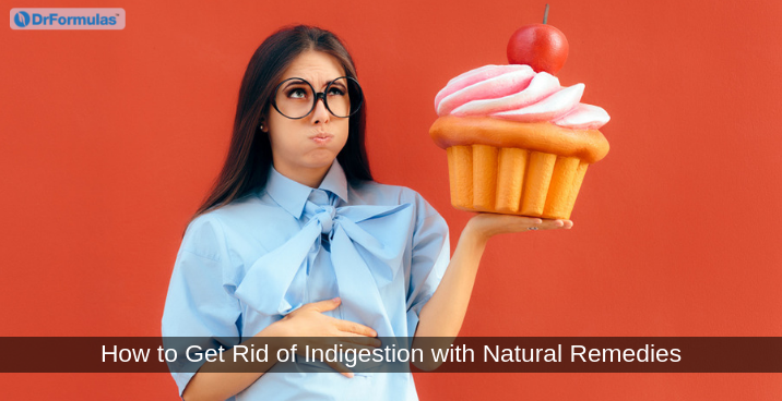 how to get rid of indigestion with natural remedies