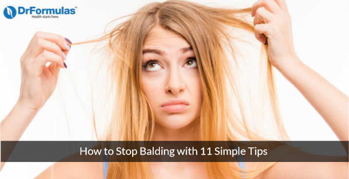 How to Stop Balding with 11 Simple Tips