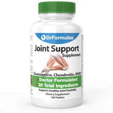 DrFormulas® 28 Ingredient Joint Supplement with Glucosamine Sulfate, Chondroitin, MSM (Formerly Mendamine), 180 Tablets
