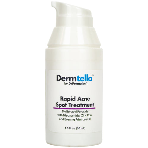 Cystic Acne Spot Treatment with Benzoyl Peroxide 5 % and Niacinamide, 1 oz