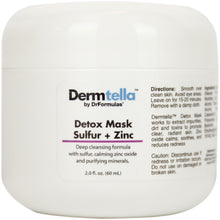 Detox Mask with Sulfur and Zinc