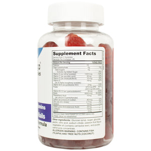 HairOmega Multivitamin Gummy System with 5000 mcg Biotin for Hair Growth