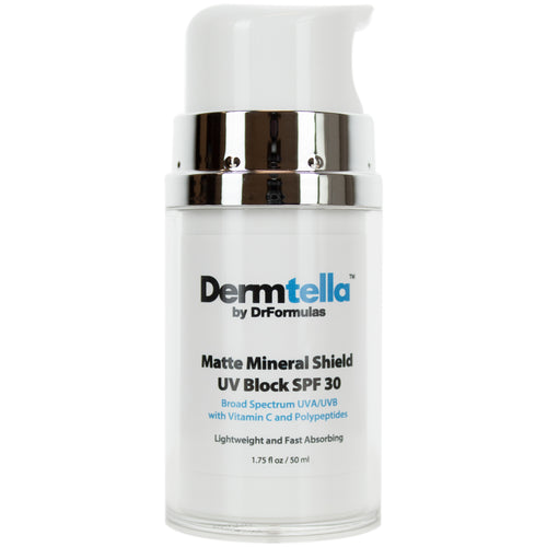 Matte Mineral Sunscreen SPF 30 for Oily Acne Prone Skin