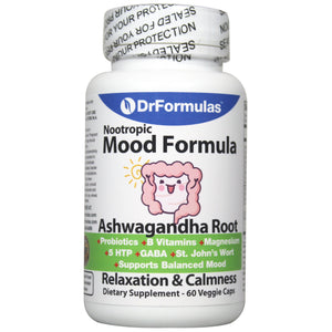 DrFormulas Mood Boost Probiotics with Stress B Complex Vitamins