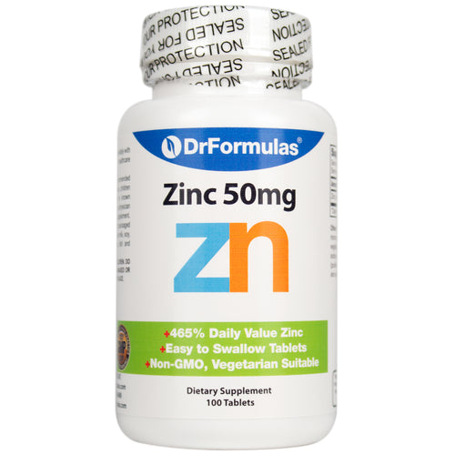 DrFormulas Zinc Oxide/Citrate Chelated Zinc Supplement (100 Day Supply)