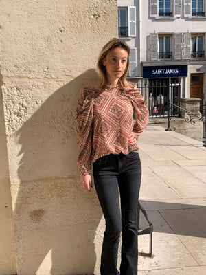 Blouse manches bouffantes GERMAINE