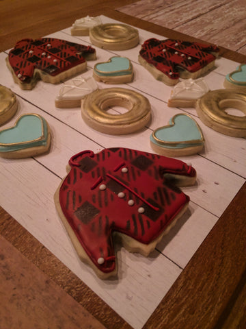 Buffalo Plaid Photo Example made for engagement cookies
