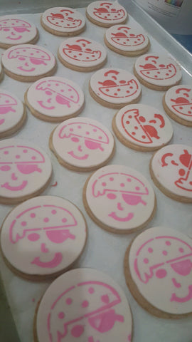 Pirate Cookies made for Gasparilla event