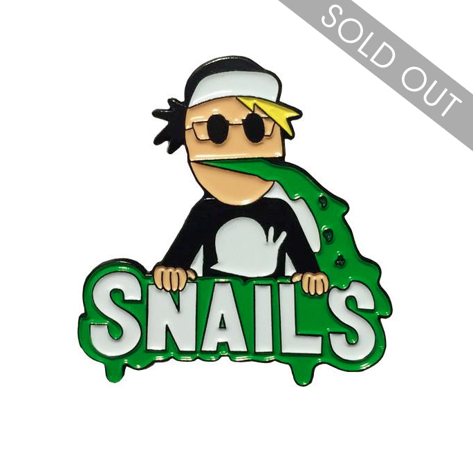 SNAILS Magic Vomit Numbered Lapel Pin