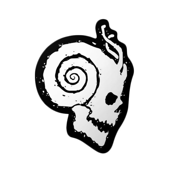 SNAILS - Slugz Music  OG Skull Sticker