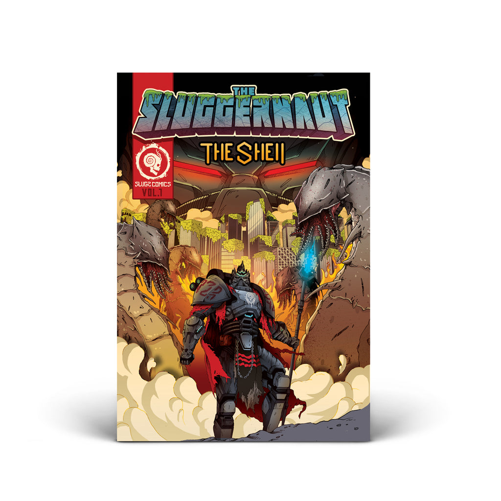 PRE ORDER - SNAILS - The Sluggernaut - The Shell Comic Book