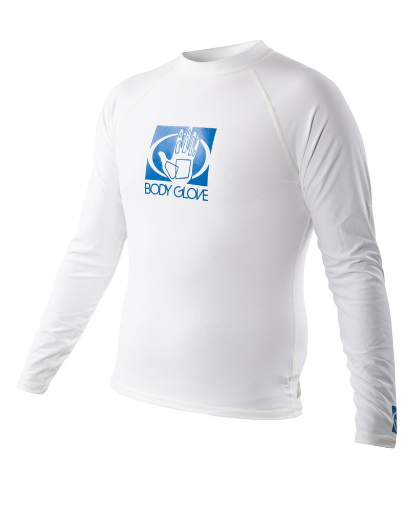 Men's Body Glove Long Sleeve Rashguard Basic L/A Lycra Fitted