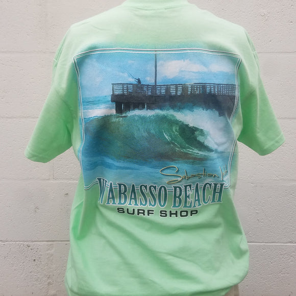 Men's Sebastian Inlet Wabasso Beach Shop T-Shirt