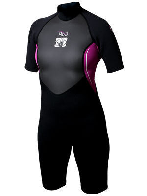 Body Glove Women's Pro 3: 2.1mm Springsuit