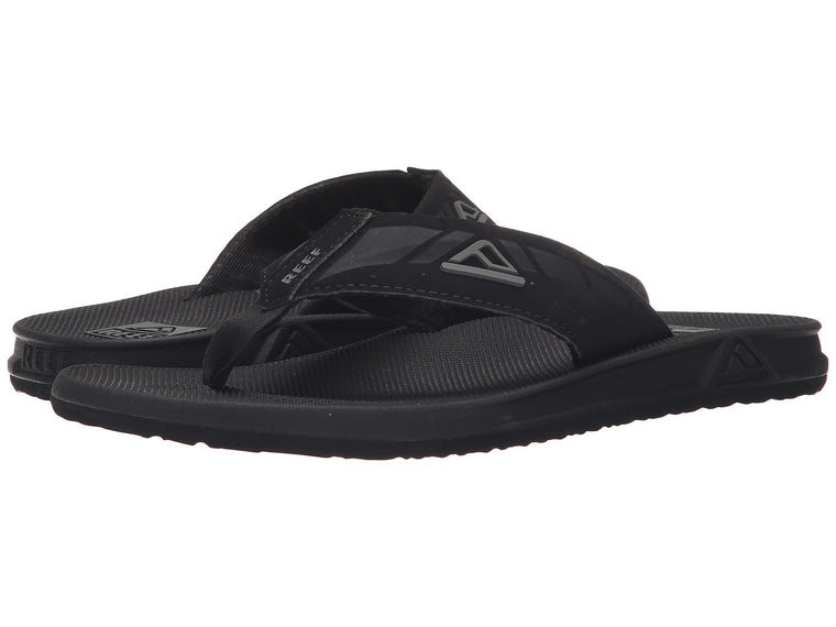 REEF Men's Phantoms Black Sandals Flip Flops