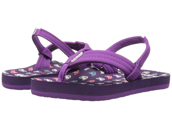 REEF Girls Little Ahi Sandals Flip Flops