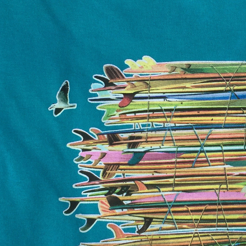 "Wabasso Beach Shop Sebastian FL Mens ""Got Boards"" Surf Boards T-Shirt"