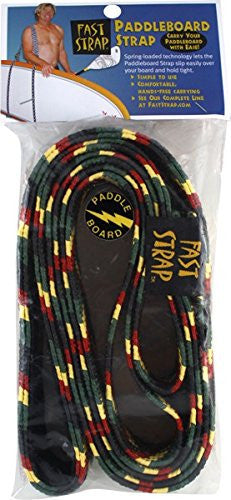 Fast Strap Paddleboard Strap Rastafarian Colors