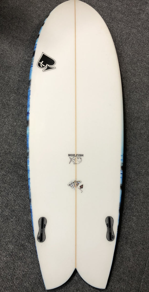 "Matt Kechele 5'8"" ""Mod Fish"" Surfboard"