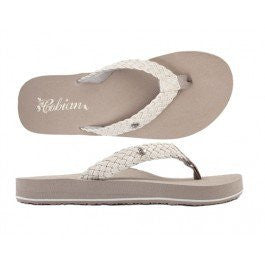 Women's Cobian Braided Bounce Sandals Flip Flops