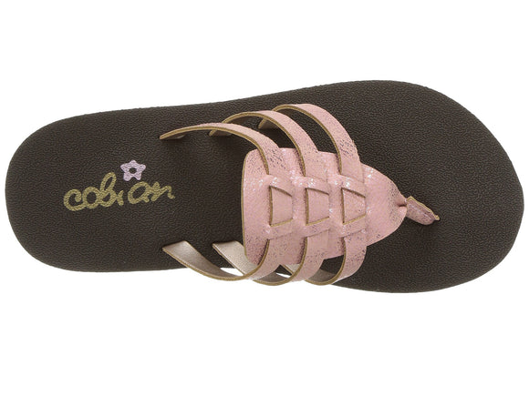 Cobian Kids Girls' Lil La Paz Sandals Flip Flops