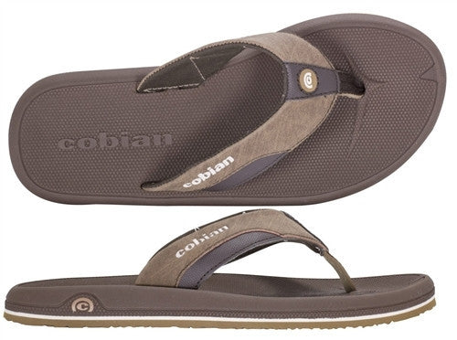 Cobian OTG Men's Sandals Black / Clay / Taupe