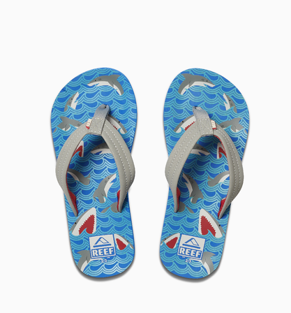 REEF Boys Kids Ahi Sandals Flip Flops