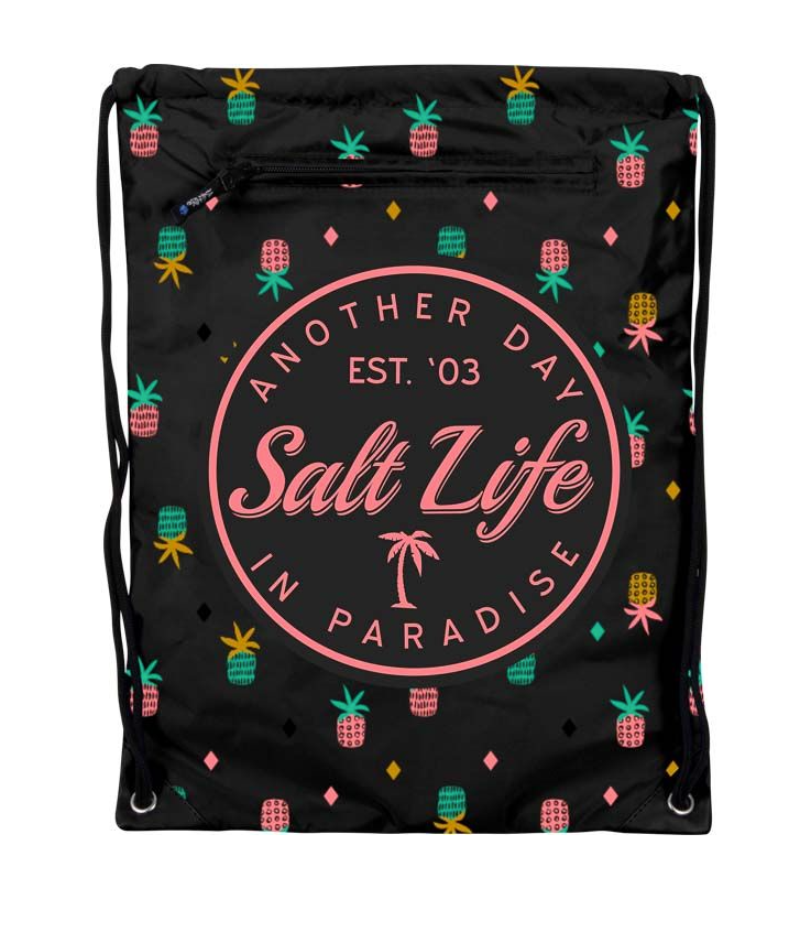Salt Life Dry Cinch Back Drawstring Bag Backpack