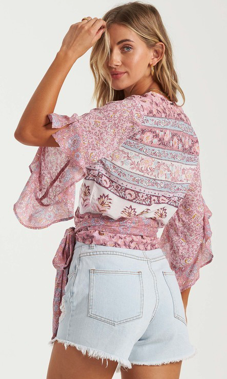 Billabong Summer Glow Shirt Top