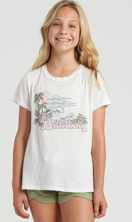 Billabong Girl's Vintage Postcard T-shirt