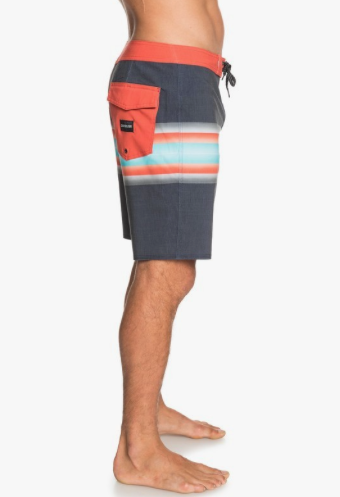 "Quiksilver Highland Six Channel 19"" Boardshorts Parisian Night"