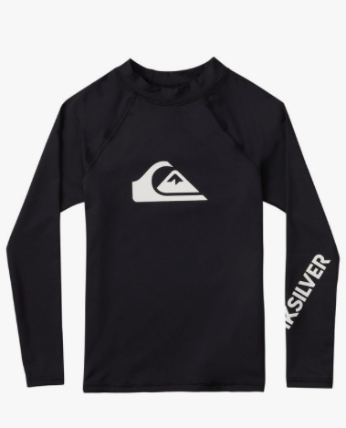 Quiksilver All Time Long Sleeve Boys' Rashguard