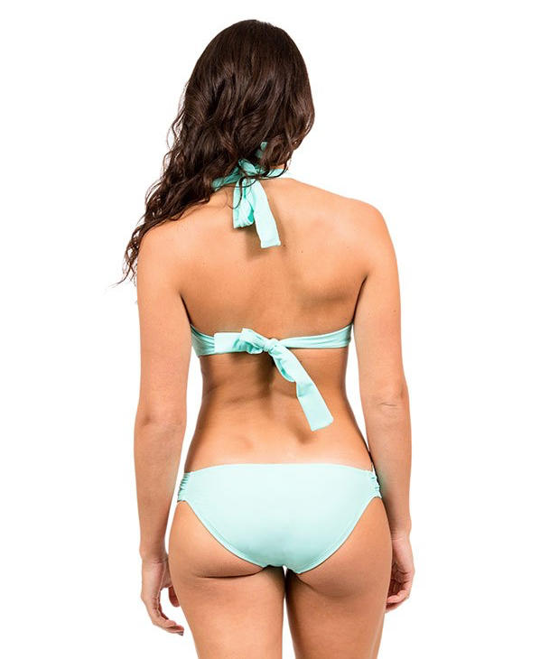 H2oh! 333 Underwire Bandeau Formed Cups, Neck & Back Tie Support