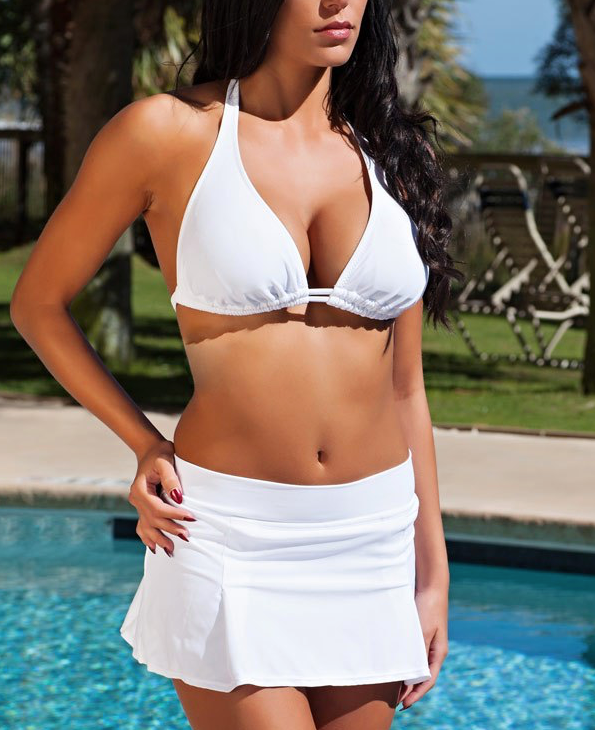 H2oh! 500 Banded Fashion Swim Skirt