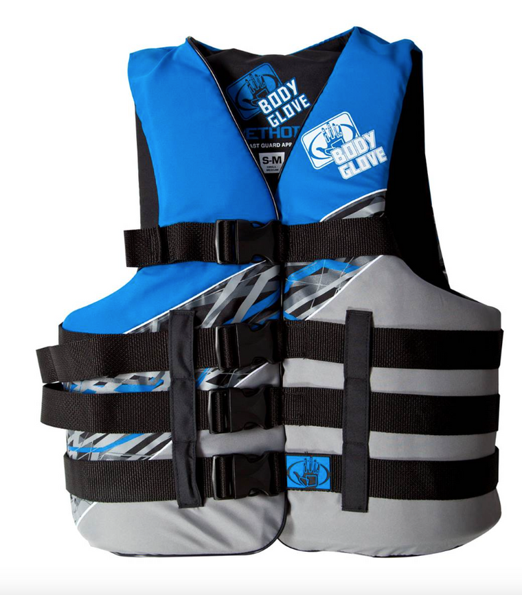 Body Glove Method Adults Buckle Nylon PFD Flotation Life Vest