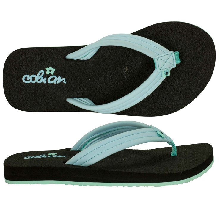 Cobian Kids Girls' Lil Aqua Bounce Sandals Flip Flops