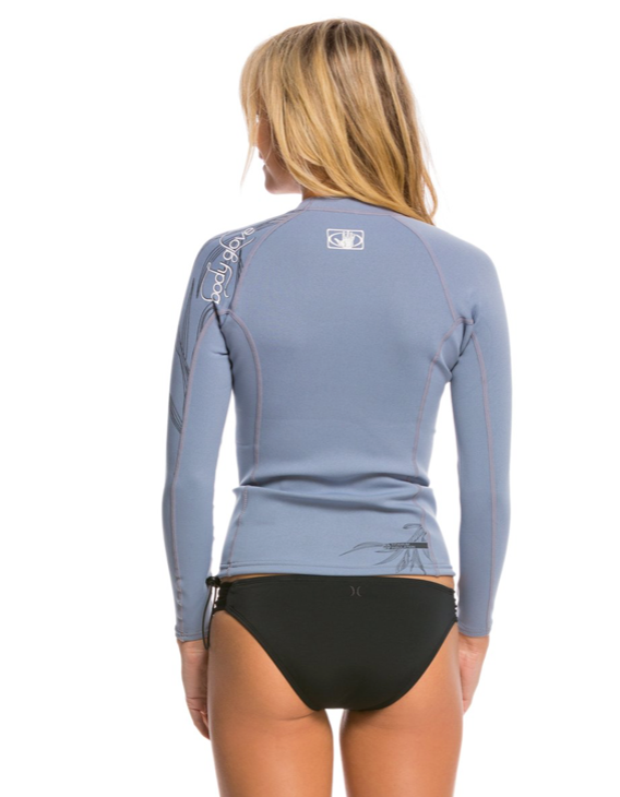 BODY GLOVE INSOTHERM .5MM WOMENS TITANIUM WETSUIT TOP