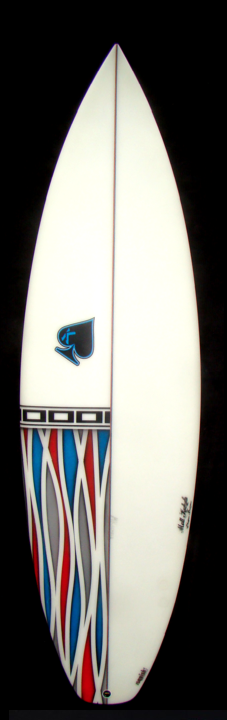 "Matt Kechele ""The Squish!"" 5'10"" Surfboard"