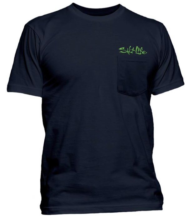 Salt Life Men's Skinz Pocket Tee T-Shirt
