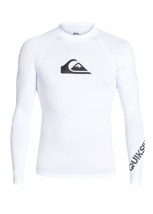 Quiksilver Men's All Time Long Sleeve UPF 50 Rash Guard