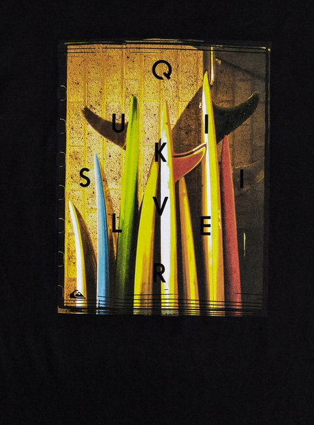 Quiksilver Men's Quiver Central Tee T-shirt