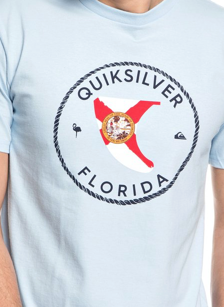 Quiksilver Men's Florida Fin Tee T-shirt