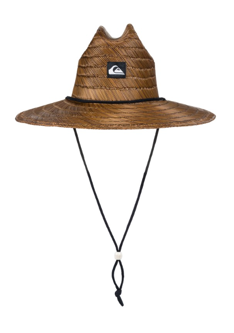 Quiksilver Man's Pierside Straw Hat Lifeguard