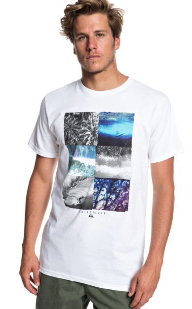 Quiksilver Men's Photo Fun Tee T-Shirt